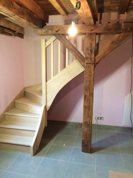 Escalier tournant Cantal 15